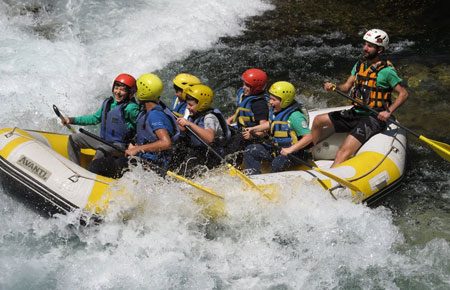 Offerta Rafting Lazio