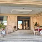 Ingresso Hotel dei Pini Fiuggi